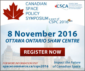 Canadian Space Policy Symposium November 8,2016.