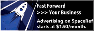 Advertise on SpaceRef starting at $75/month