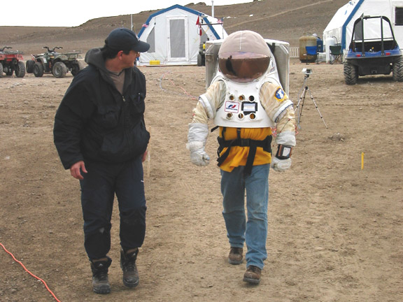 Hamilton Sunstrand Concept Mars Spacesuit Field Trial ...