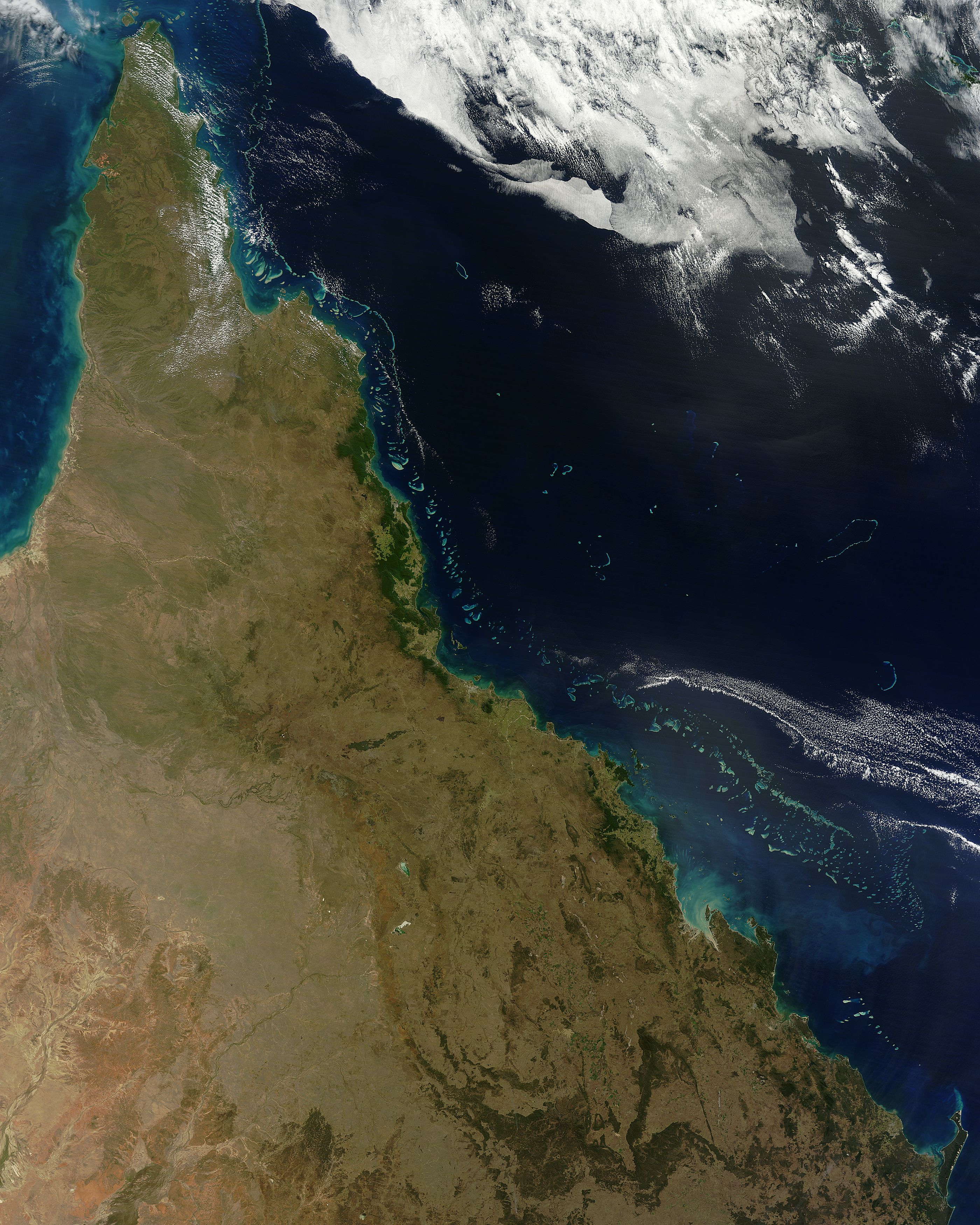 NASA MODIS Image Of The Day: August 13, 2012