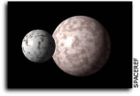Astronomers Observe Pluto & Its Moons