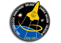 NASA STS-120 Report #13  12:45 a.m. CDT Monday, October 29, 2007