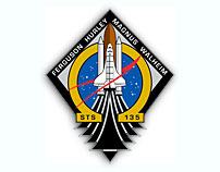 NASA STS-135 Report #06  Monday, July 11, 2011 - 2 a.m. CDT