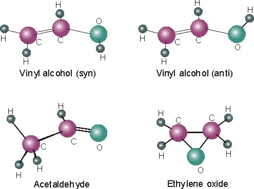 Vinyl Alcohol and its fellow isomers