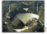 Arecibo's sensitive new eye begins massive sky survey - perhaps discovering that starless galaxies exist
