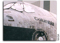 NASA Loans First Columbia Debris for Research