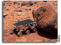 Rock Varnish: A Promising Habitat for Martian Bacteria