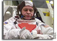 Medical Issue Bumps Cosmonaut from Space Walk