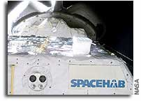 STS-107 Science Experiments Under Way