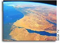 Israeli Astronaut Looks at the Middle East From Space
