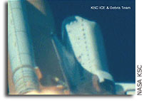 CAIB Issues Fifth Finding: Shuttle Launch Imagery