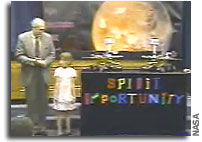 Girl with Dreams Names Mars Rovers 'Spirit' and 'Opportunity'