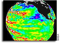 El Nino's Pacific Rains Can Affect World Weather