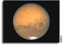 Mars seen at its closest in 60,000 years