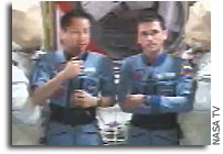 ISS Crew Reacts to Launch of Shenzhou V