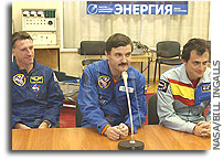 Next Space Station Crew Ready for Saturday Launch