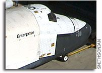 Space Shuttle Enterprise Has a New Home