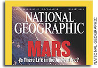 YOU can vote to put Mars on the cover of  the Jan 2004 issue of National Geographic