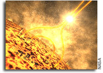 Extensive Destruction Powers Solar Explosions