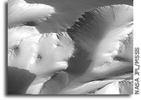 Mars Odyssey THEMIS Image: Canyon Walls 