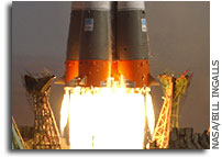 Success of the 1694th launch of Soyuz
