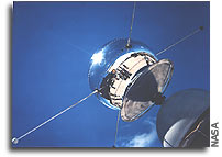 Vanguard Satellite Marks 45 Years in Space