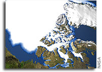 NASA Sees Rapid Changes in Arctic Sea Ice