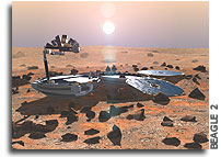 Beagle 2 - No signal received during the first pass of Mars Odyssey