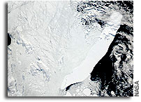 Iceberg C-19 Observed from Space