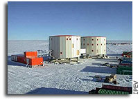 Mission to Mars via Antarctica