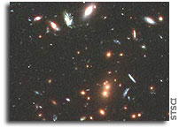 Hubble Sees Record-breaking ancient galaxy clusters