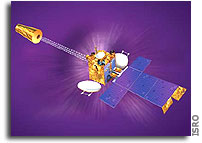 INSAT-3A Placed in Geostationary Orbit