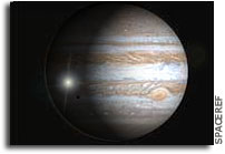 Galileo Makes Fatal Dive Into Jupiter