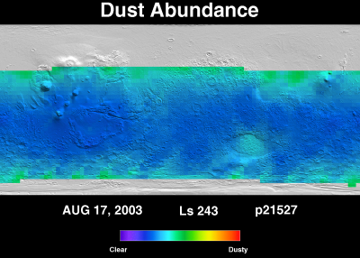 Orbit 21503 dust map