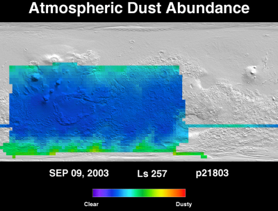 Orbit 21803 dust map