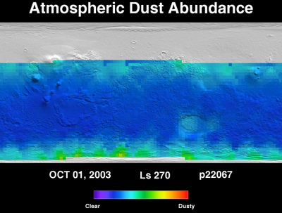 Orbit 22067 dust map