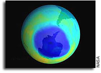 2003 Ozone 'Hole' Approaches, But Falls Short of Record