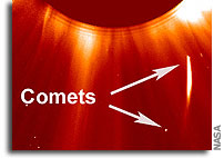 Headless Comets Survive Plunge Through Sun's Atmosphere