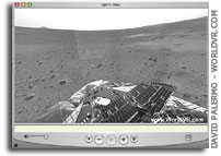 QuickTime VR Panorama of NASA Spirit's Landing Site on Mars