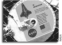 NASA Memorializes Space Shuttle Columbia Crew on Mars