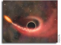 Black Hole Discovered Tearing a Star Apart