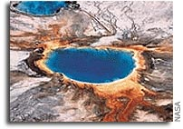 New Online Guidebook: Secrets of the Springs: Astrobiology in Yellowstone National Park