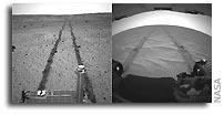 NASA's Mars Rovers Look Back