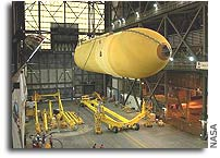 NASA ships Space Shuttle External Tank back to Factory for Redesign Upgrade