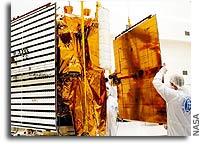 NASA Messenger Spacecraft Recieves its Sun Catchers