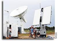 Radar test during MESSENGER launch may help shuttle's