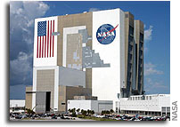 NASA KSC's Vehicle Assembly Building Back in Business