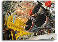 Space Shuttle Milestone: NASA Installs Main Engines on Discovery