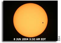 Watch the Transit of Venus Live