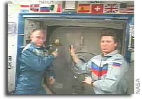 President Reagan Honored From Space by Crew of International Space Station